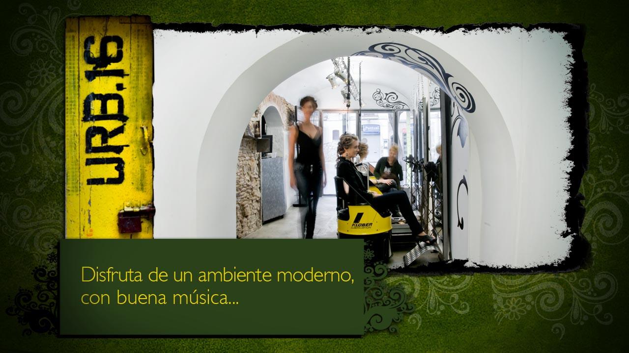 Peluqueria moderna barcelona www.urb16.com